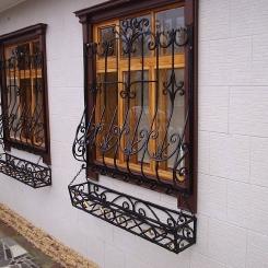 Кованые решетки на окна КР_68