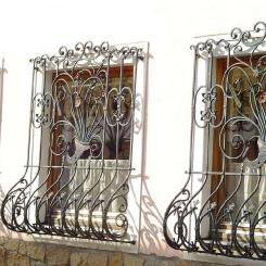 Кованые решетки на окна КР_73