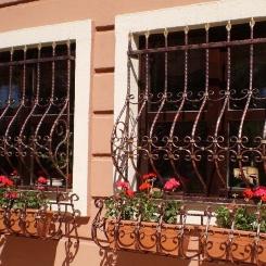Кованые решетки на окна КР_74