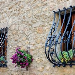 Кованые решетки на окна КР_76