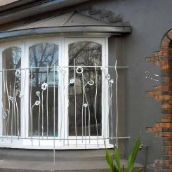 Кованые решетки на окна КР_77