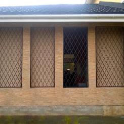 Кованые решетки на окна КР_80