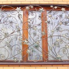 Кованые решетки на окна КР_83
