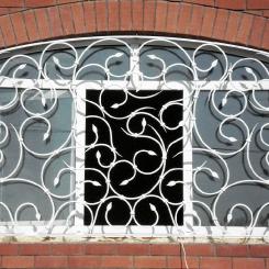 Кованые решетки на окна КР_86