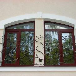 Кованые решетки на окна КР_87