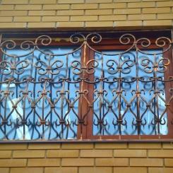 Кованые решетки на окна КР_89