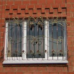 Кованые решетки на окна КР_91