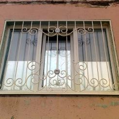 Кованые решетки на окна КР_92