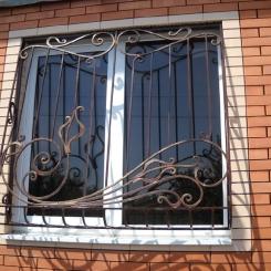 Кованые решетки на окна КР_95
