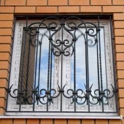 Кованые решетки на окна КР_96
