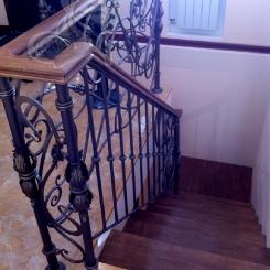 Кованые перила для лестницы КП_36