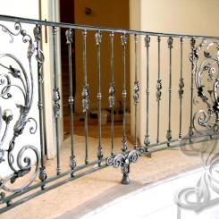 Кованые перила для балкона КП_38