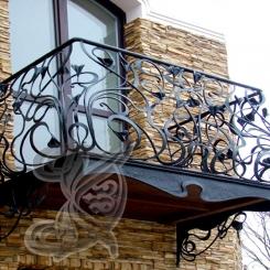Кованый балкон КБ_5