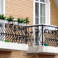 Кованый балкон КБ_12