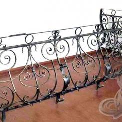 Кованый балкон КБ_9