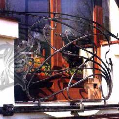 Кованый балкон КБ_13