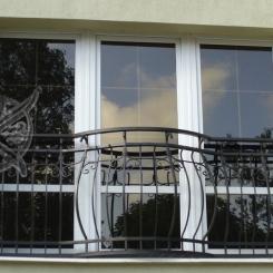 Кованый балкон КБ_14