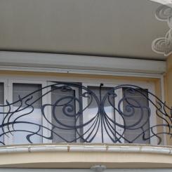 Кованый балкон КБ_16