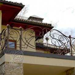 Кованый балкон КБ_19
