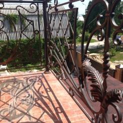Кованый балкон КБ_26
