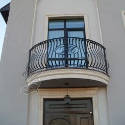 Кованый балкон КБ_28