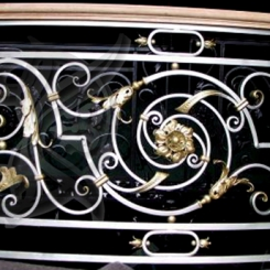 Кованый балкон КБ_2