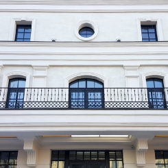 Кованый балкон КБ_32