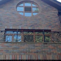 Кованый балкон КБ_33
