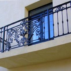 Кованый балкон КБ_100