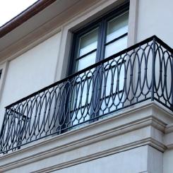 Кованый балкон КБ_102