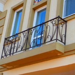 Кованый балкон КБ_103
