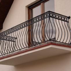 Кованый балкон КБ_105