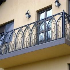 Кованый балкон КБ_106