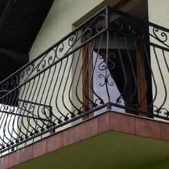 Кованый балкон КБ_107