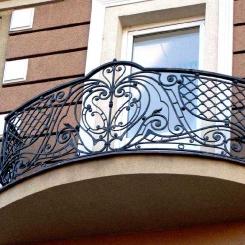 Кованый балкон КБ_112