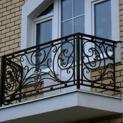 Кованый балкон КБ_115