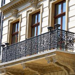 Кованый балкон КБ_117