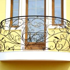 Кованый балкон КБ_39