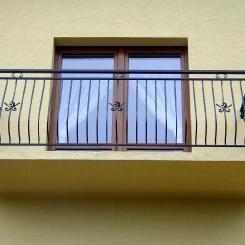 Кованый балкон КБ_45