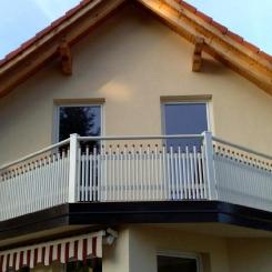Кованый балкон КБ_56