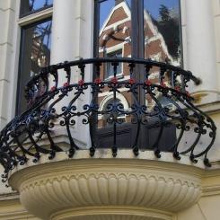 Кованый балкон КБ_57