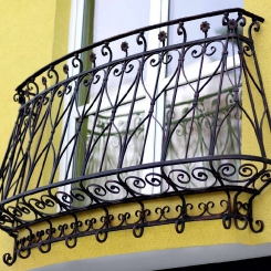 Кованый балкон КБ_60