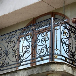 Кованый балкон КБ_62