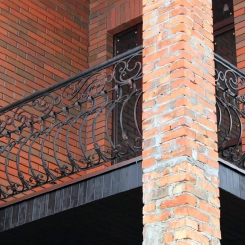 Кованый балкон КБ_63