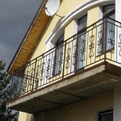 Кованый балкон КБ_66