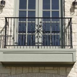 Кованый балкон КБ_67