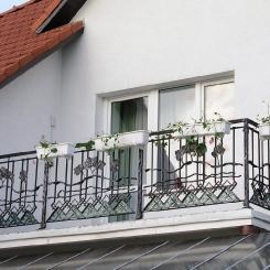 Кованый балкон КБ_68