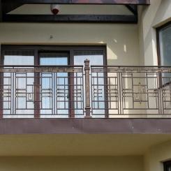 Кованый балкон КБ_69