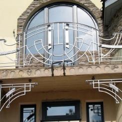 Кованый балкон КБ_70