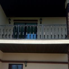 Кованый балкон КБ_76